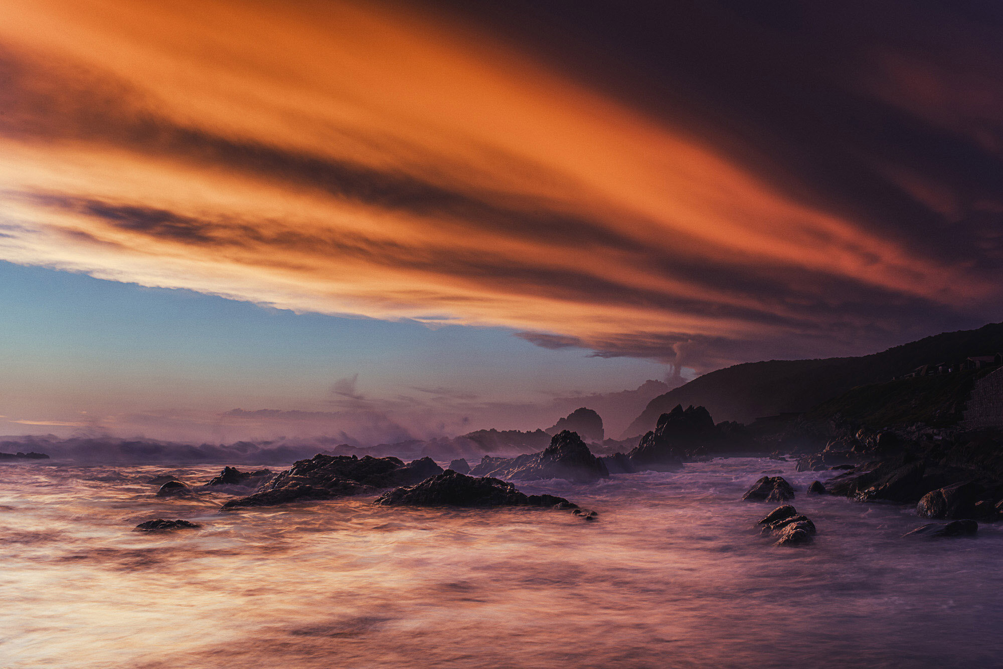 landscape photography storms river South Africa