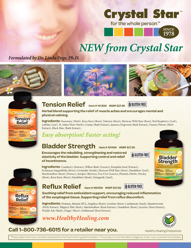 New Crystal Star Products Flyer