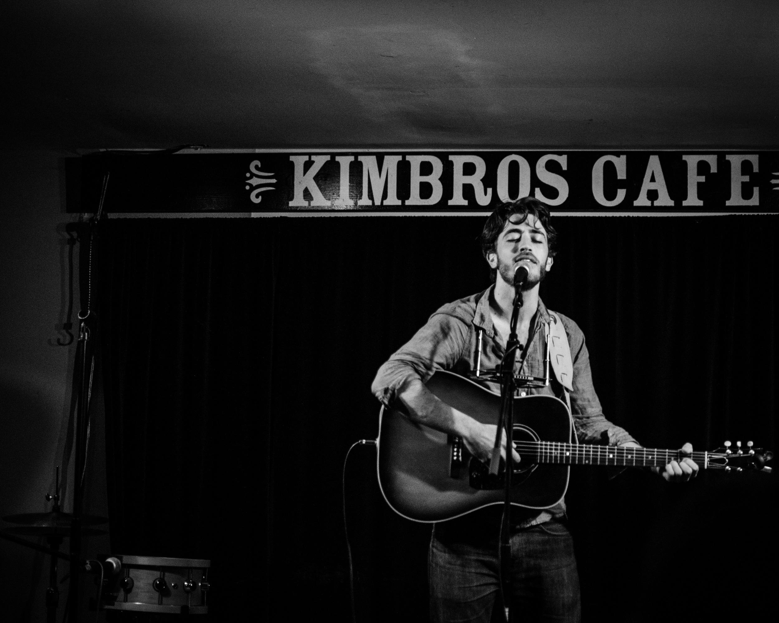 Zach Hackett - Kimbro's Cafe