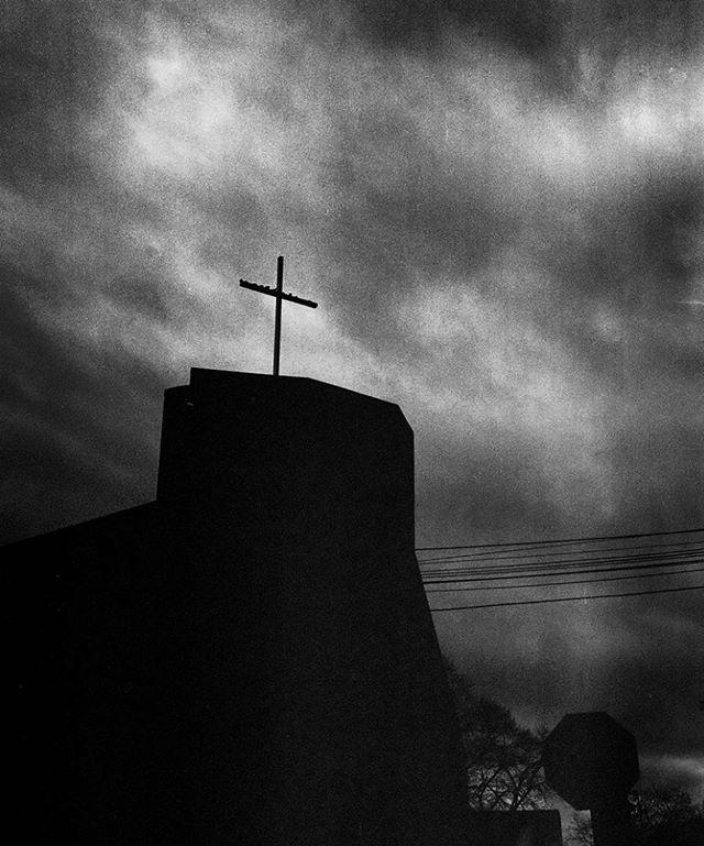 Bad Religion. (This is my childhood church) #analogtalkpodcast #filmphotographic #webelieveinfilm #filmphotography #filmisnotdead #filmisalive #kodak #kodaktmax400 #400tmax #pentax67 #believeinfilm #mediumformat #lebanonpa #stmarys