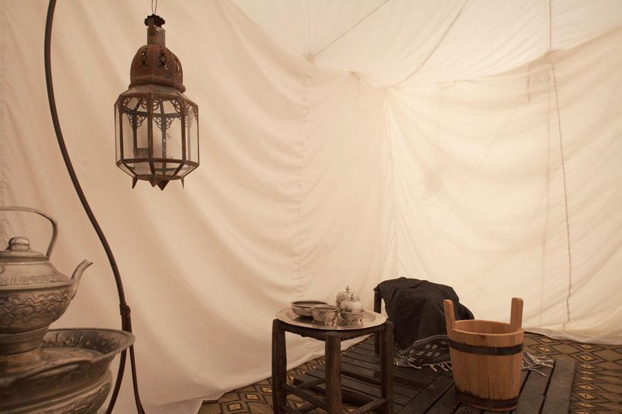 """Maure Suite"" tent - shower room"