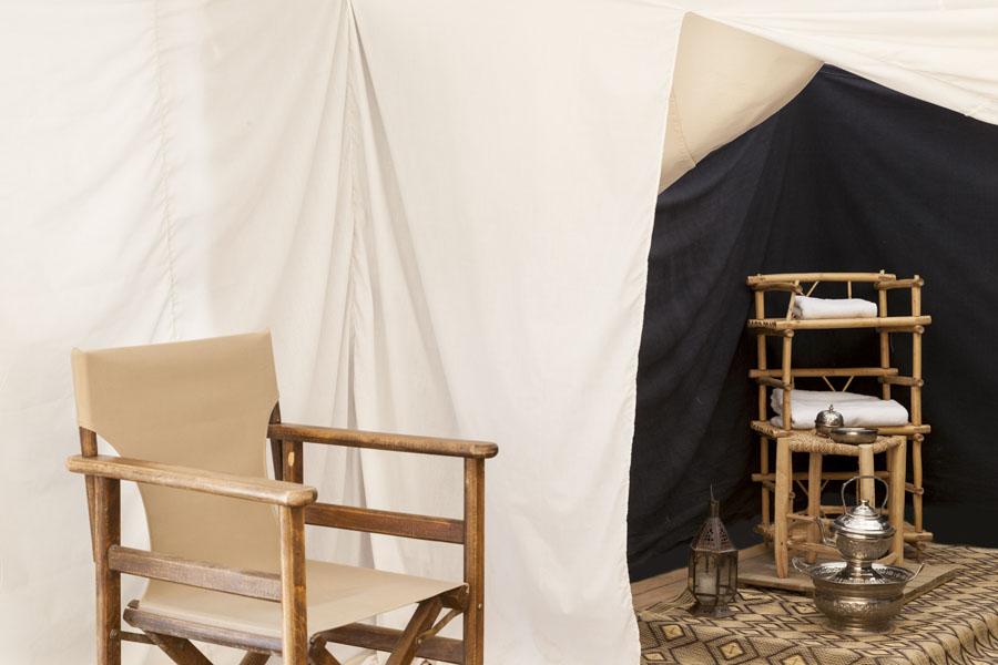 """Maure"" tent - shower room"
