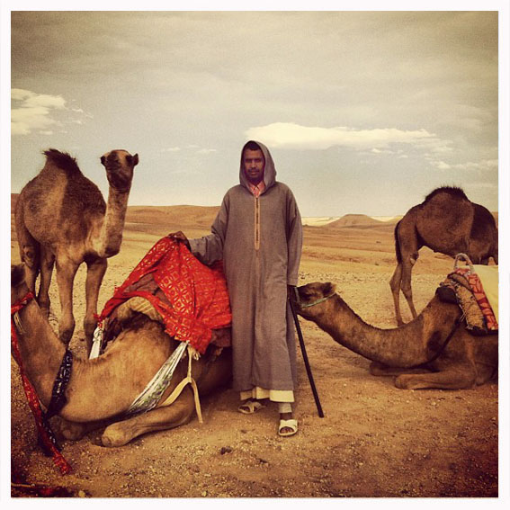Camel-back ride