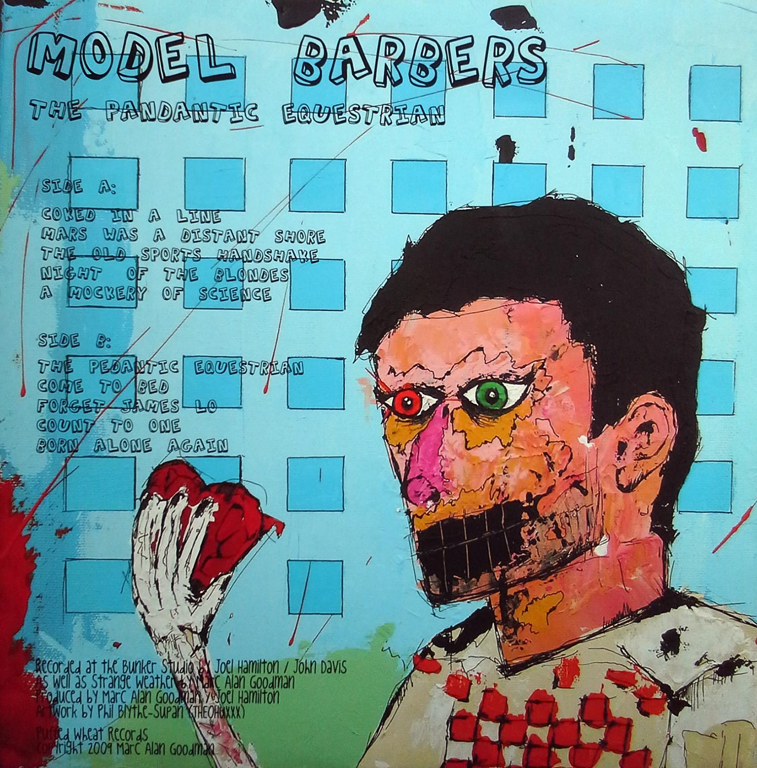 "Model Barbers 12"" back cover"