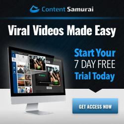 Content Samurai Free Trial
