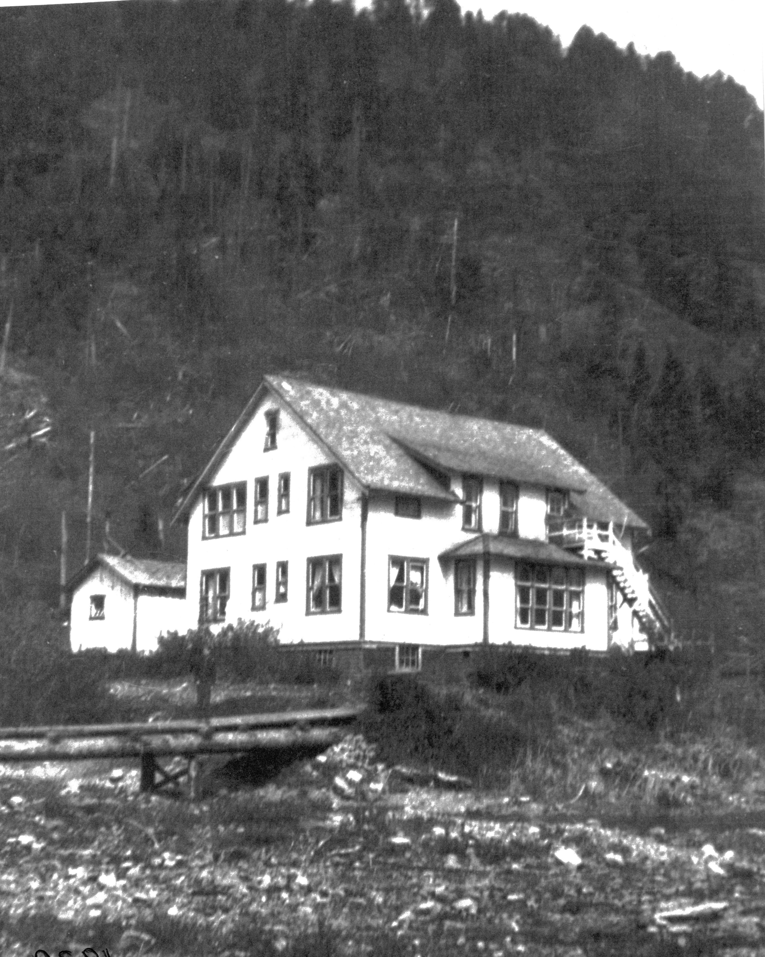Nootka Mission Hospital in 1939