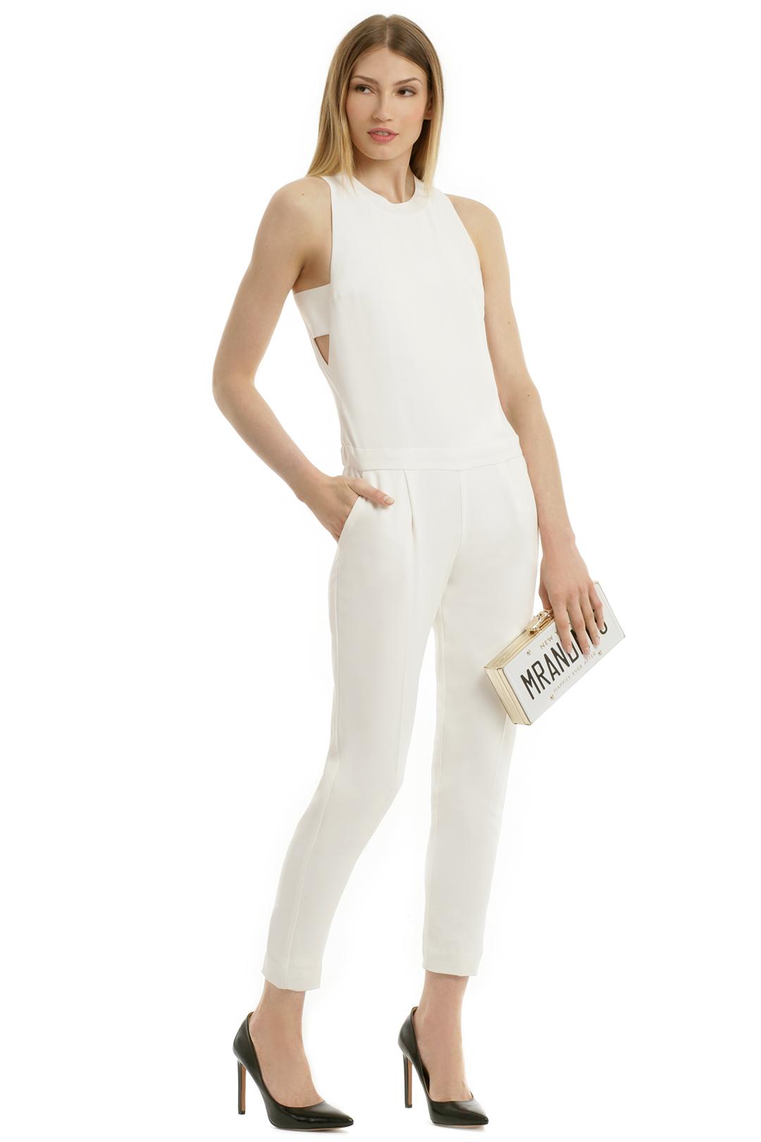 paper cut jumpsuit