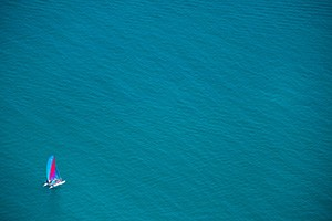 Lake Michigan Sailboat