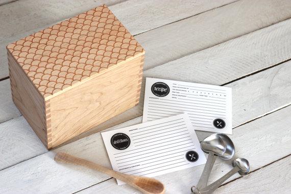 Unique & Beautiful Recipe Boxes