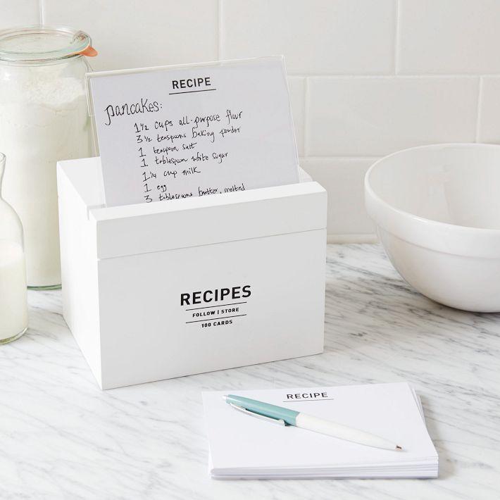 Unique & Beautiful Best Recipe Boxes