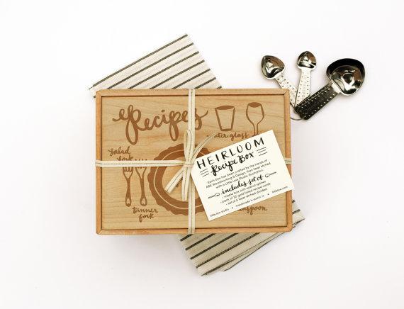 Unique & Beautiful Recipe Boxes Best