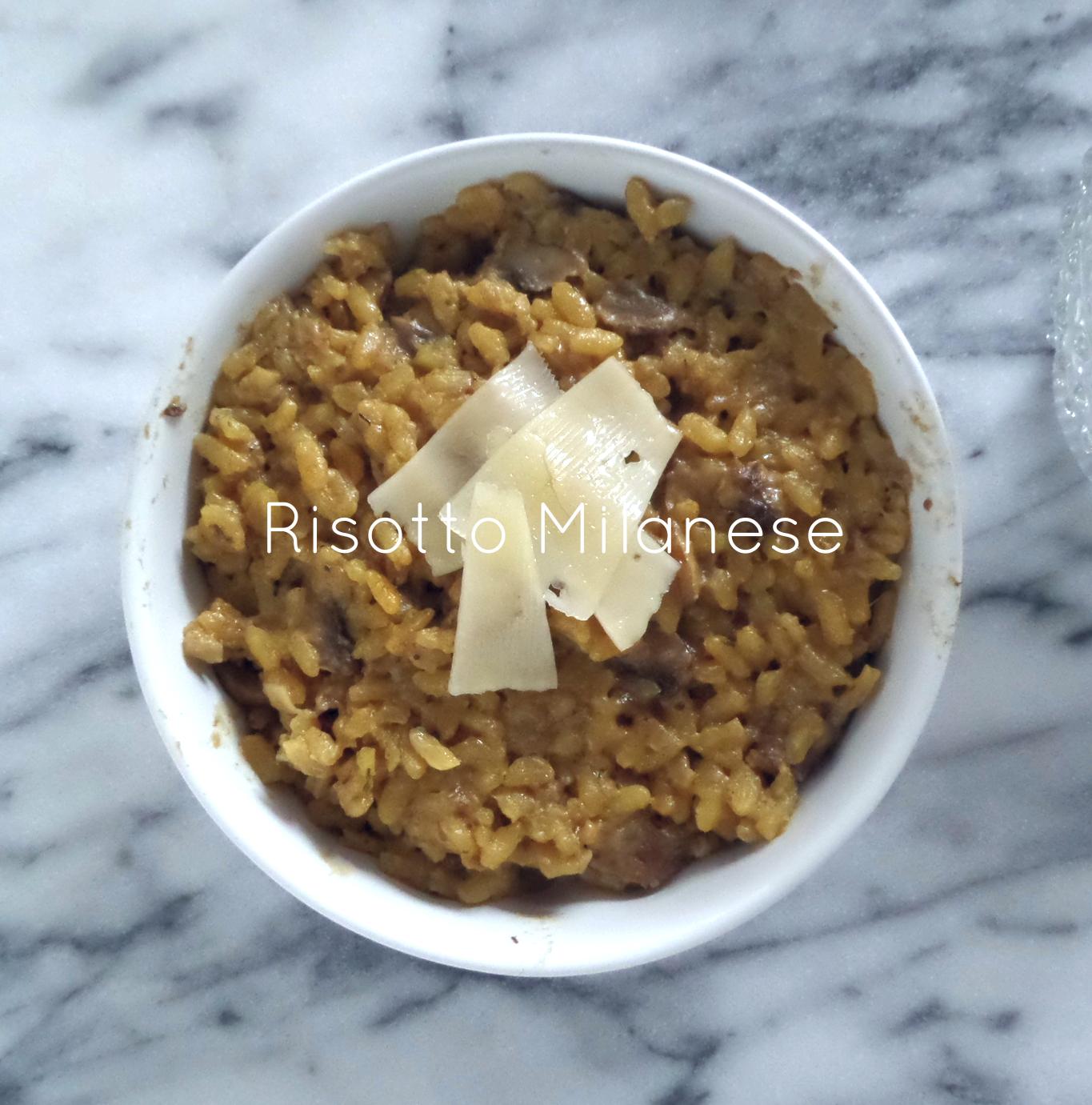 risotto milanese recipe