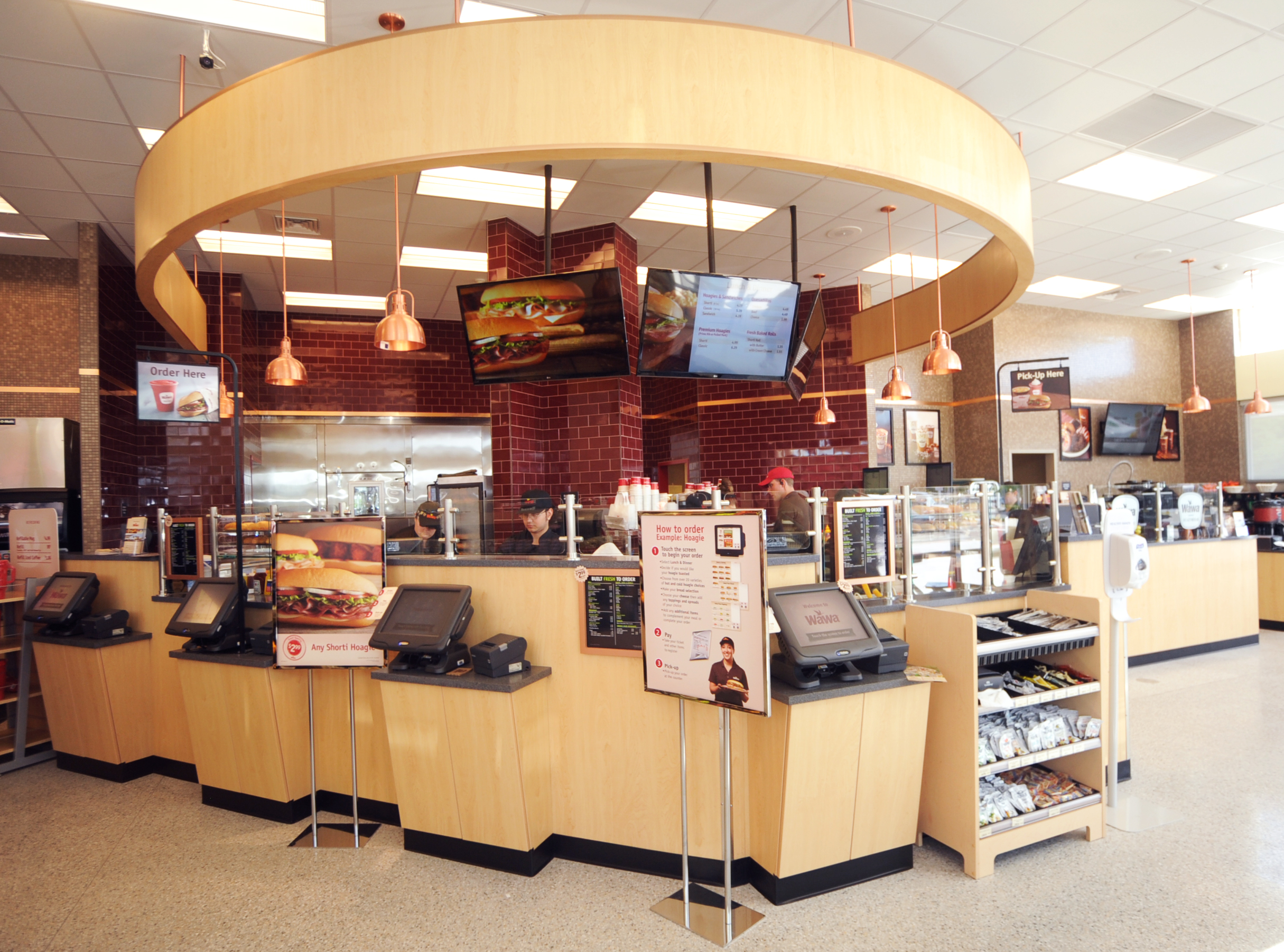 Wawa Food Wrap Wall