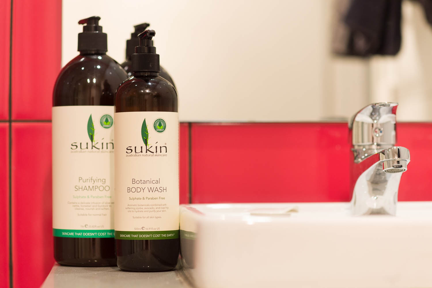 One of a Kind Apartments Sukin products