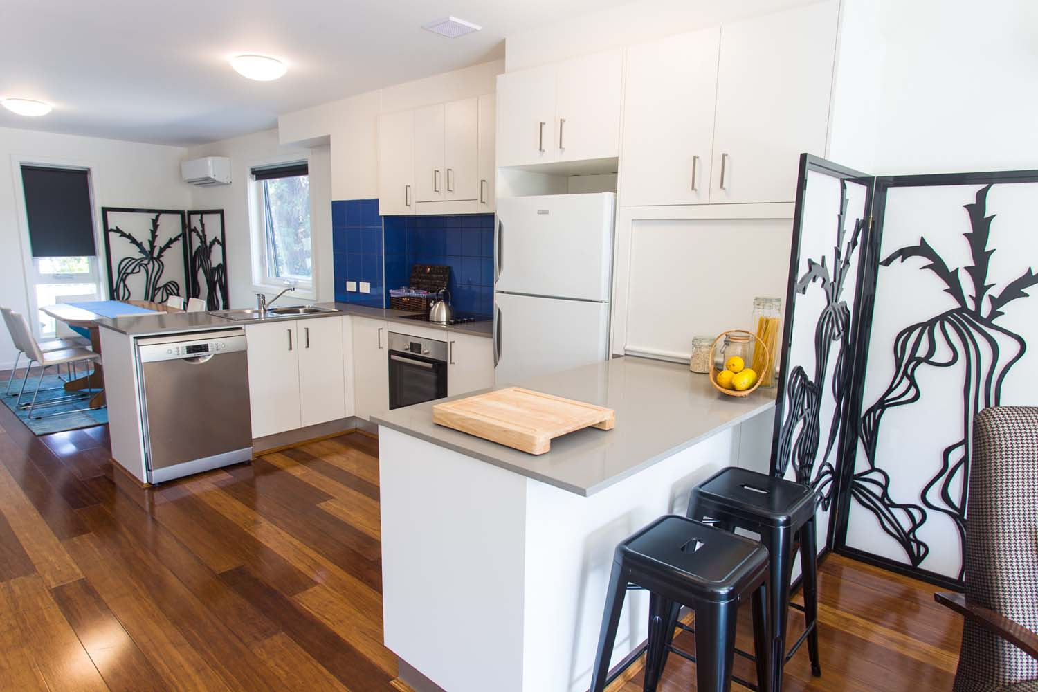 All apartments include a lovely big kitchen, perfect for cooking up a storm.