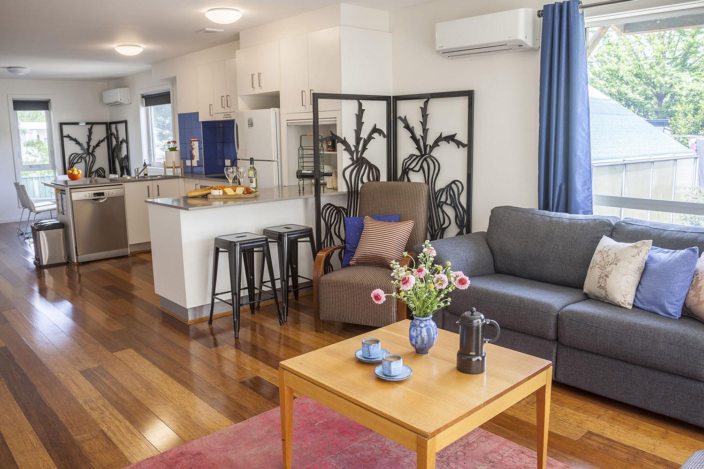 Paris Inspired Two-Bedroom Terrace