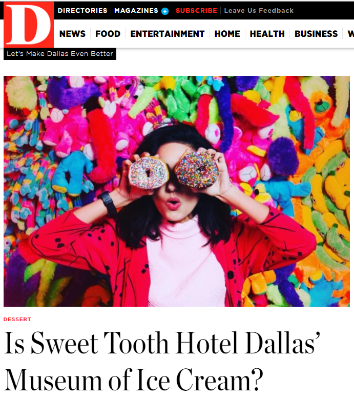 D Magazine - Sweet Tooth Hotel 01-19-2018.PNG
