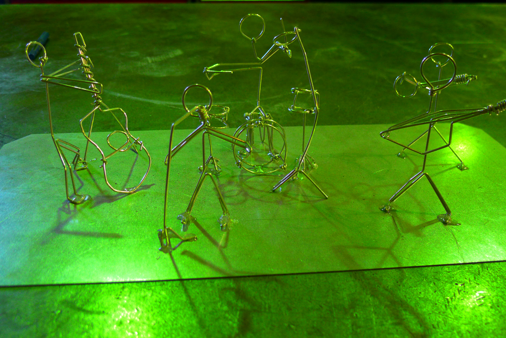 Silver Wire Sculptures