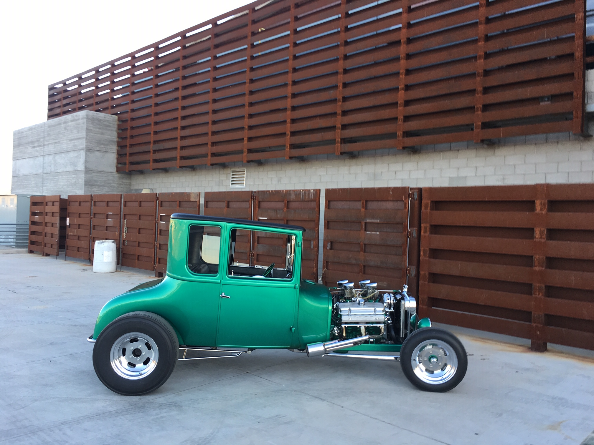"""The """"HAIF-T""""  1926 Ford T Coupe"""