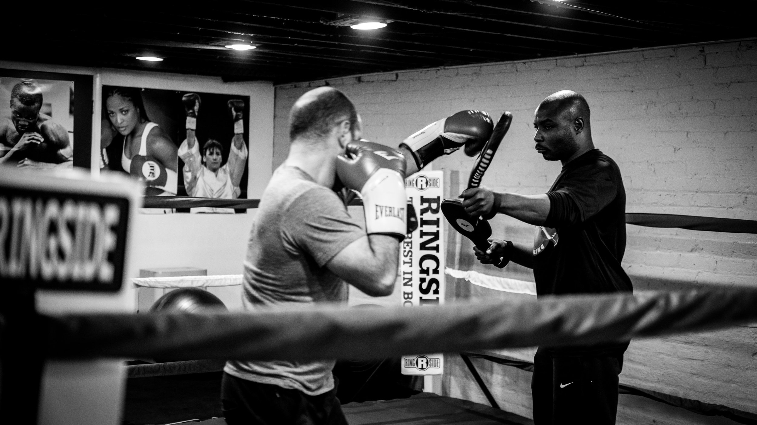 Private Boxing Sessions - One-on-one training with active fighters, whether you're looking to go pro or just get in shape!Click here to learn more.