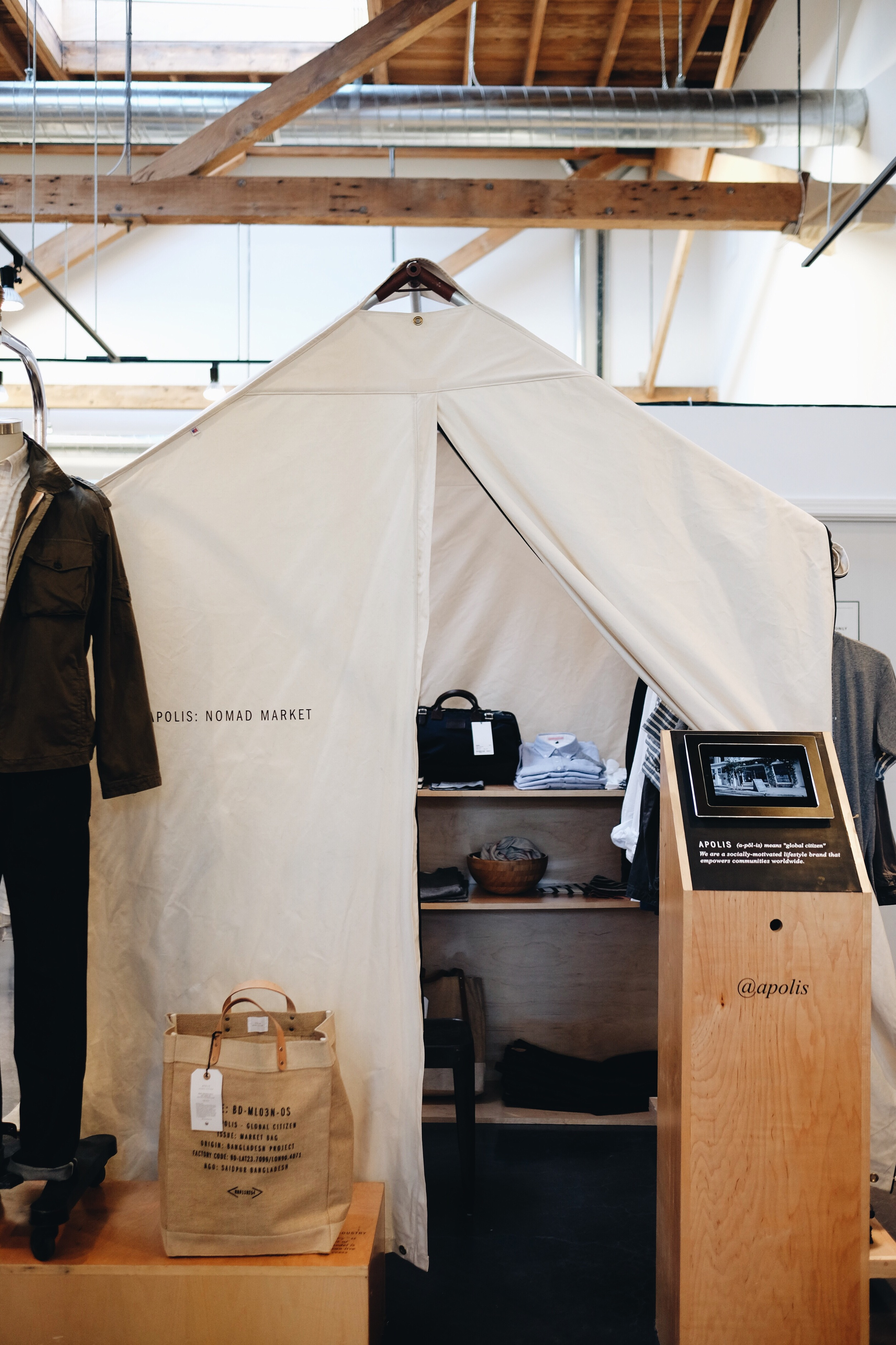 Nomad Market Popup Tent