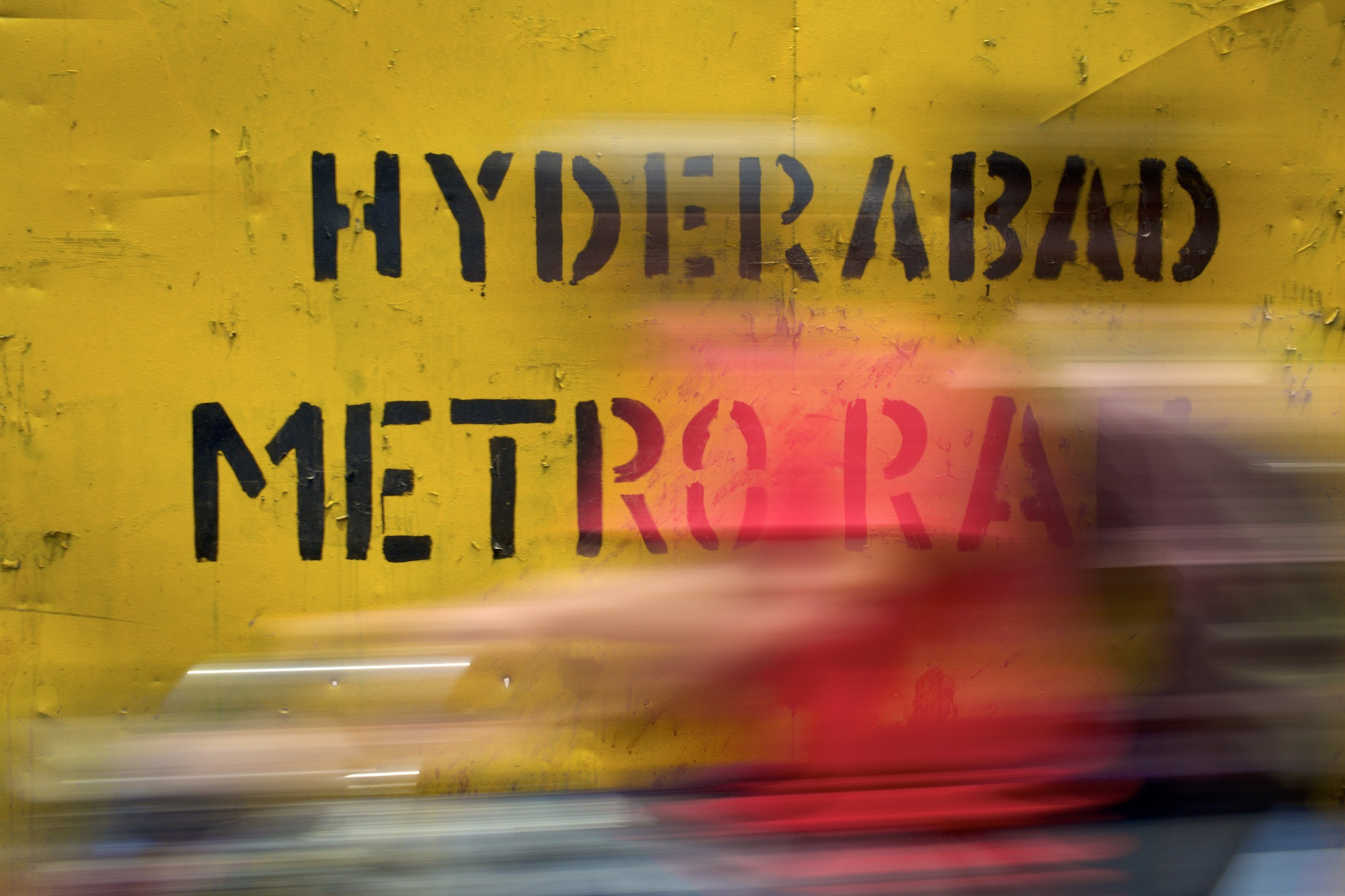 Hyderabad Metro, currently getting built