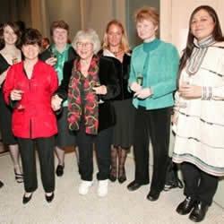 Julianna Brush, Edie Widder, Elizabeth Bennett, Eugenie Clark, Sveva Gallmann, Janine Benyus, Aquilina Lestenkof