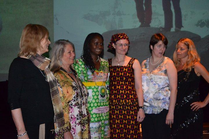 Polly Wiessner, Gretel Ehrlich, Gladys Kalema-Zikusoka, Kate Jackson, Catherine Powers, Anna Cummins