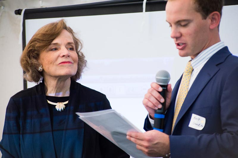 The Walter Cronkite Awards; [l-r] Dr. Sylvia Earle, Walter Cronkite IV