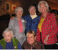Marie Tharp, Vera Rubin, Stephanie Schwabe, Katy Payne, Iris Love