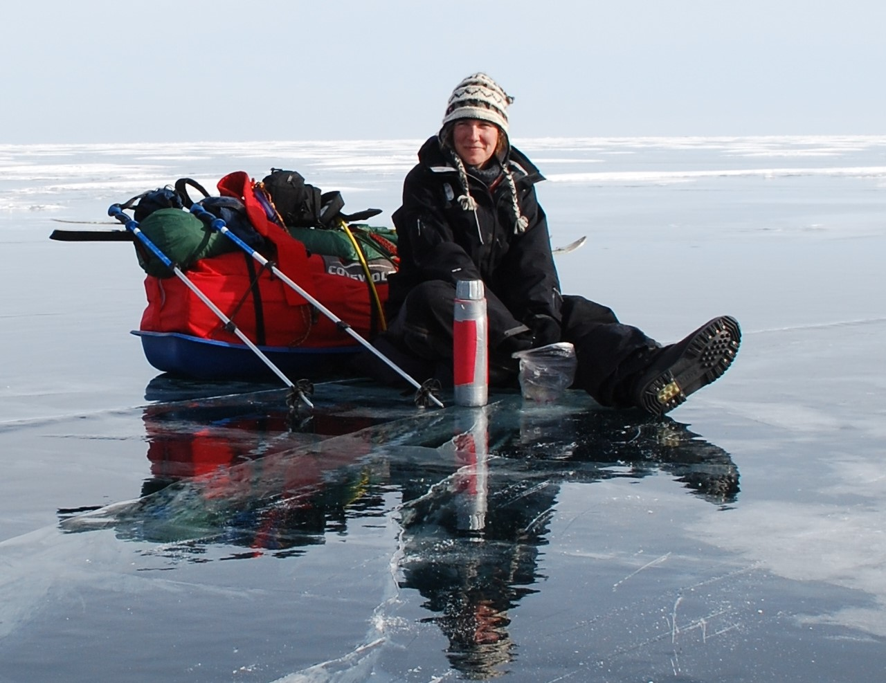 Felicity Aston, 2014 Courage Award; First woman to ski alone across Antarctica