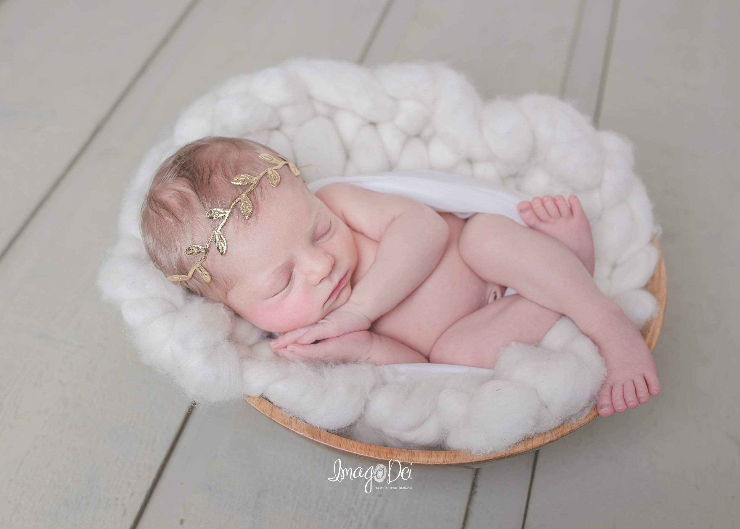 "- ""Crystal is one talented lady. I swear she is a baby whisperer! I will treasure my daughter's beautiful newborn pictures forever! Worth every penny!-Melanie D"