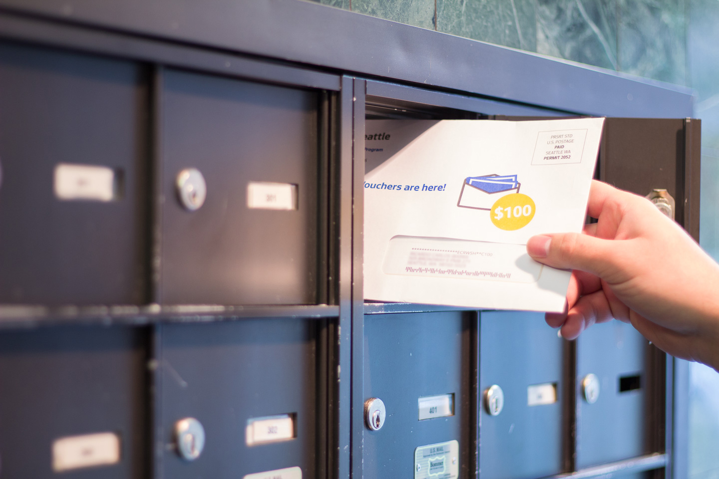 Democracy Vouchers Arrived in 500,000 Seattle mailboxes -