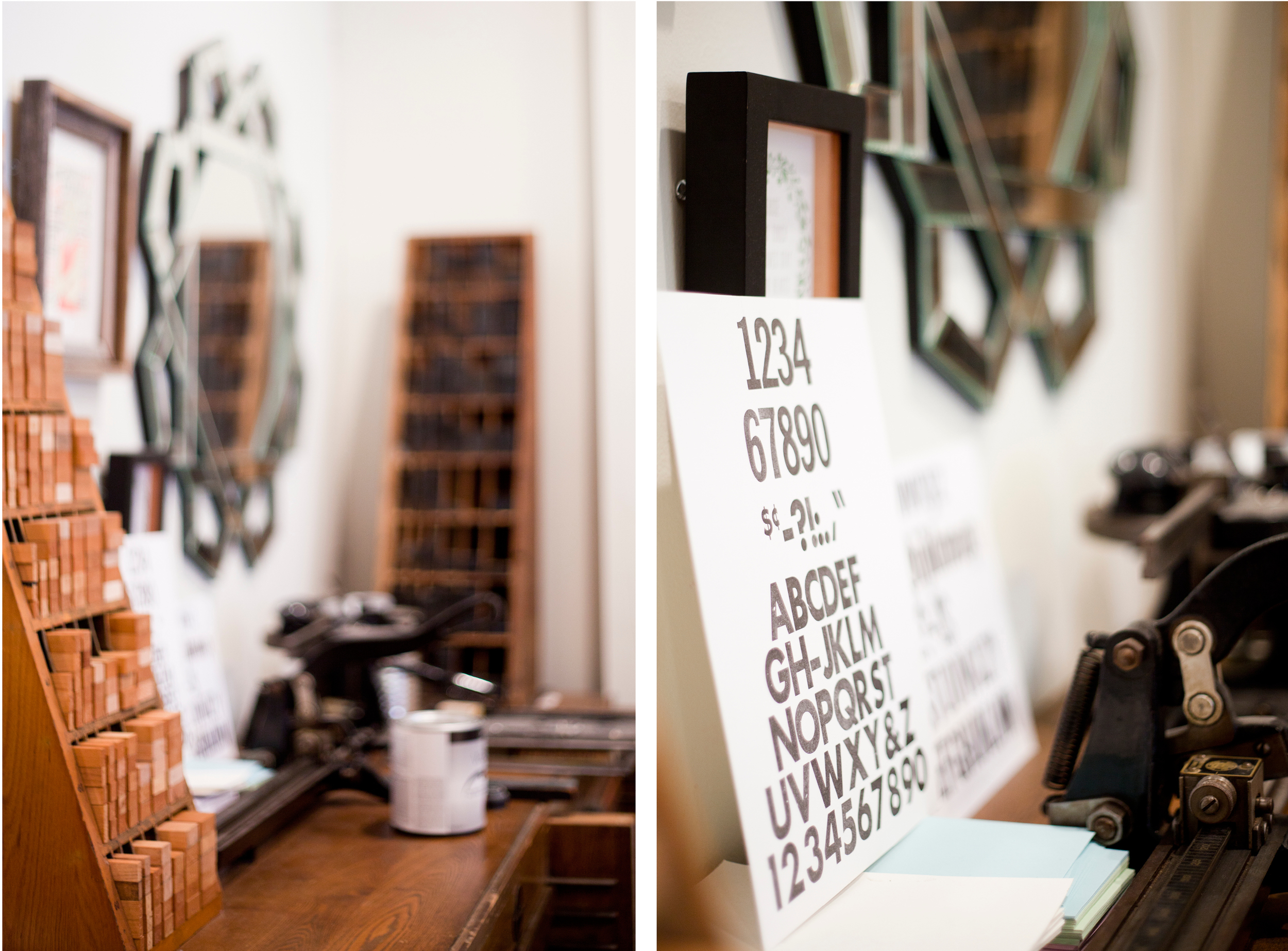 smokey road press / letters + light