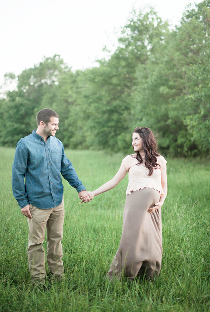 Brandy and Daniel Maternity Athens Georgia Letters and Light Photography