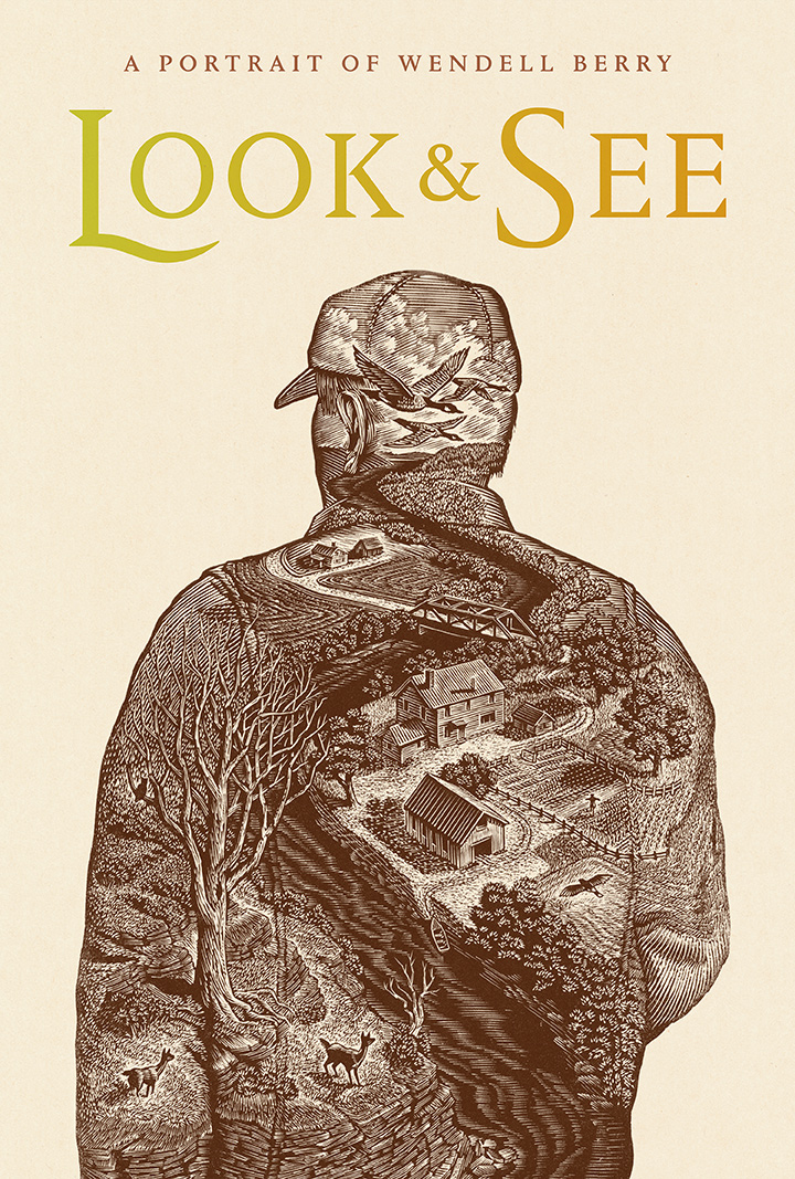 (Wood Engraving by Wesley Bates, Typography by Mark Melnick)