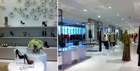'The Room' luxury women's department on the store's second floor [ Image Source ]