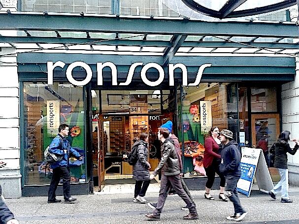 ronsons warehouse shoe sale