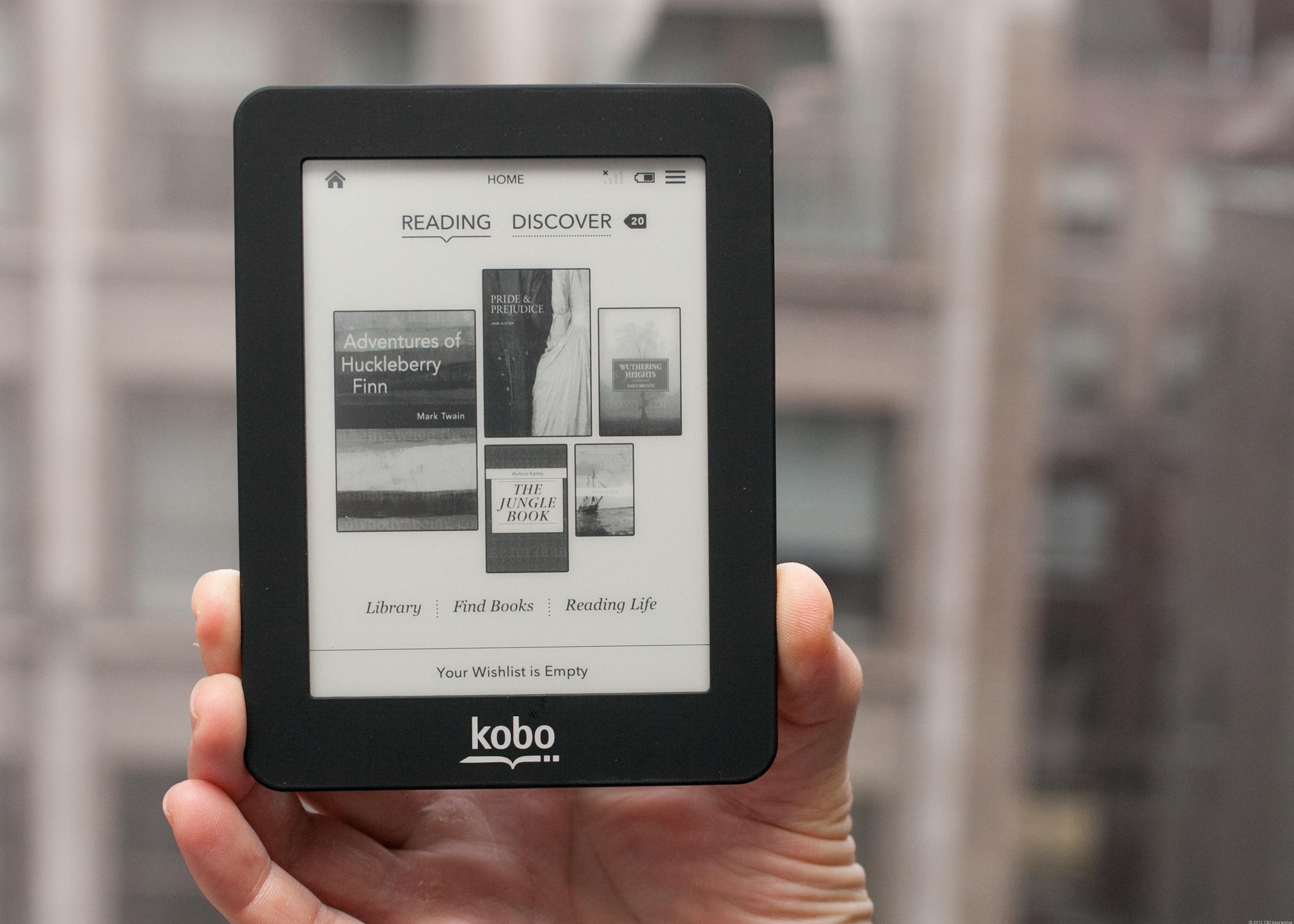 Kobo mini reader.  Image Source