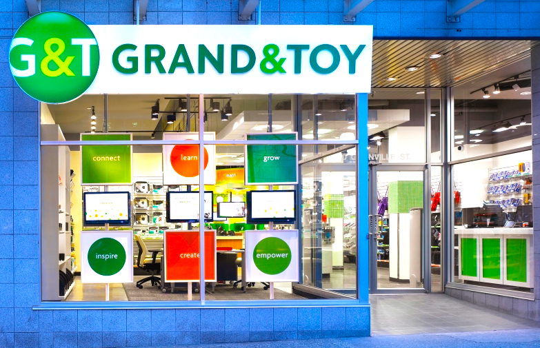 Photo credit: OfficeMax Grand & Toy