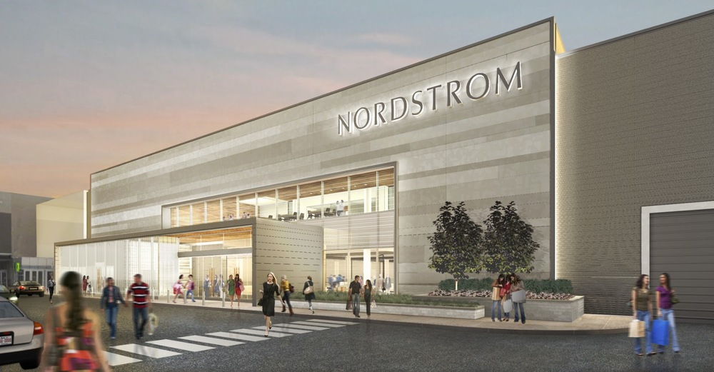 Nordstrom, Chinook Centre, Calgary. Image: Nordstrom
