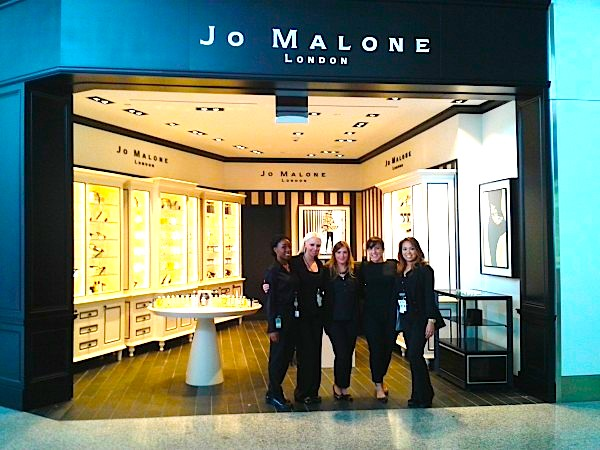 The new Jo Malone boutique in Toronto - currently the only free-standing Canadian boutique for the brand.