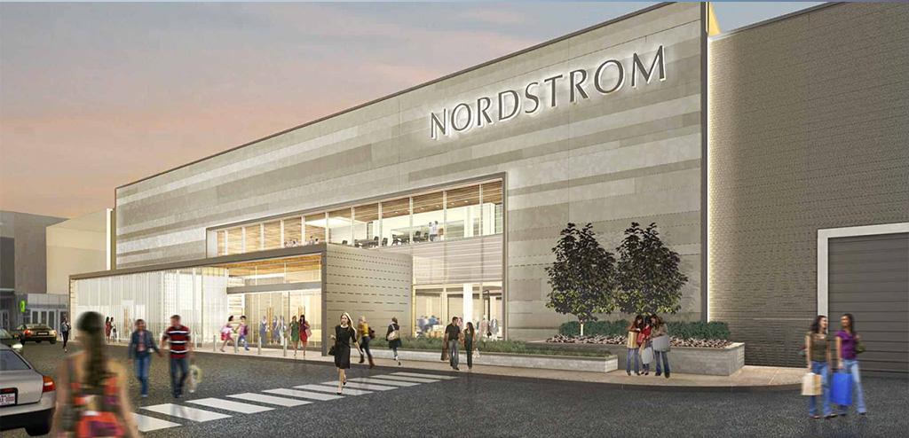 Rendering: Nordstrom.