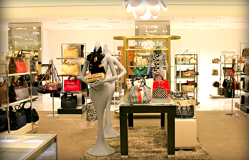 Nordstrom sells handbags, priced from a few dollars up into the thousands. Photo:www.scottsdalefashionista.com