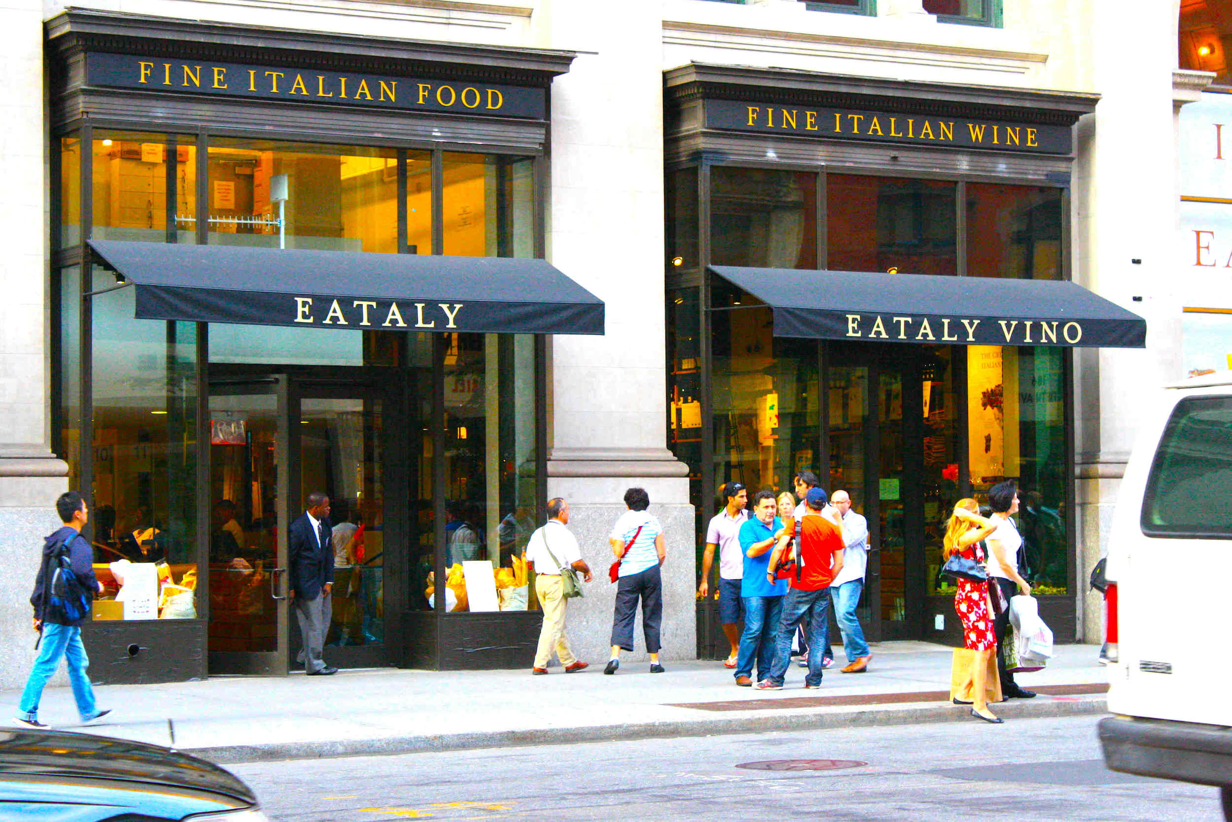 Eataly, Manhattan. Photo:http://www.pizzasicilia.it