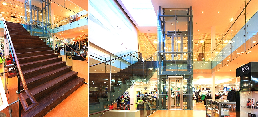 Sporting Life's Toronto flagship. Photo: Reich+Petch (click to enlarge)