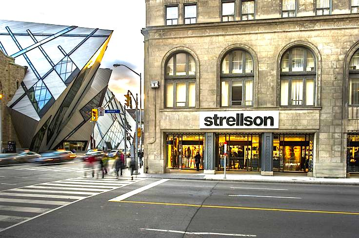 Strellson's only North American store is at 170 Bloor St. W. in Toronto. Photo: Strellson.