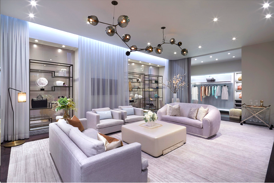 The Apartment at Holt Renfrew, Yorkdale. Photo: Janson Goldstein architects.