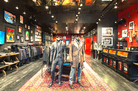 Inside Yorkdale's John Varvatos store. Photo: John Varvatos.