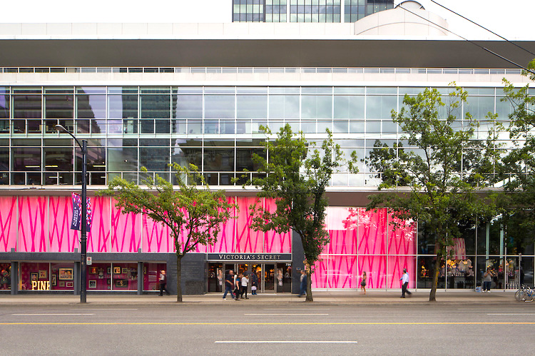 Vancouver's Victoria's Secret flagship, currently the world's second-largest, will be similar in size to the new Montreal store. Photo: feinknopf.photoshelter.com